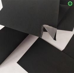 Le papier kraft ondulé Conseil de l'impression d'aléser noir de l'emballage du papier noir Fsc