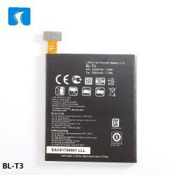 Li-ion Spice de batería para teléfonos móviles digitales LG Accesorios Lista de los mejores precios para LG BL-T3 Batterie