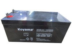 12V250ah герметичный свинцово-кислотный аккумулятор / VRLA AGM АККУМУЛЯТОР/ИБП батареи для хранения