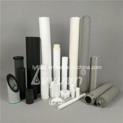 La fábrica de polvo porosa cerámica o plástico/metal/acero inoxidable/titanio cartucho de filtro sinterizado elemento tubo buen precio.