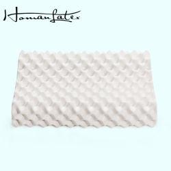 Cuscino quadrato naturale puro di massaggio del lattice del punto di alta qualità per l'uomo