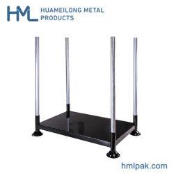 Pallet di alberino d'acciaio portatile del supporto del metallo di piegatura industriale di alta qualità