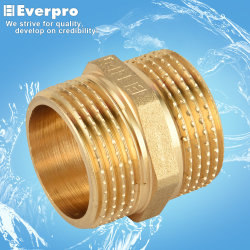 Vasta gama utilizada forjadas de latão Niple de Redução/Bronze a conexão da mangueira (CEF-N12/14)