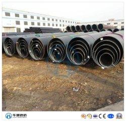 Spirale SSAW arc submergé en acier soudé Tuyau en acier au carbone sans soudure en acier