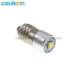 Atualização do LED E10 Lanterna a lâmpada da luz de 5W 2-9V C/D Cell Substituir Lâmpada tochas de lanterna