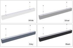 Gef5uhrtes und unten lineares helles Beleuchtung-lineares Licht verschobenes Gefäß für Schlafzimmer-Haushalt, Hotel, Krankenhaus, Schule