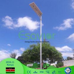 LEIDENE van de Sensor van de Microgolf van de Camera van de Certificaten van Ce RoHS TUV IP66 Licht van de Weg van de Waterdichte 80W Zonne het Aangedreven ZonneVerlichting van de Straat Openlucht Zonne