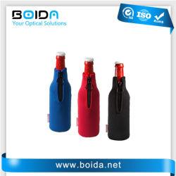 Vous pouvez en néoprène promotionnel Cooller vin bouteille de bière trapues (NP51101) du refroidisseur