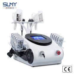 De Machine van de Schoonheid van het Vermageringsdieet van Liposuction van de Laser van de Cavitatie rf Lipo van Cryolipolysis 40K