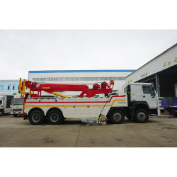 60 トンローテータけん引ヘビーデューティロードウレッカー回収トラック 車両