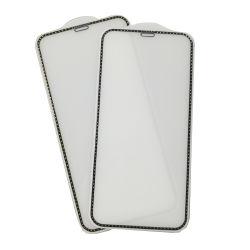 vidrio templado de diamantes Protector de Pantalla para iPhone 11 /11 PRO /6 /7/ 8 /X /Xr /Xs máx.