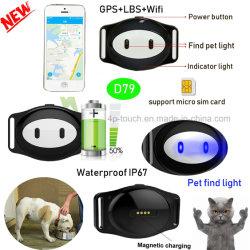 Ce/RoHS aprobado animales rastreador de GPS con precisión la posición D79