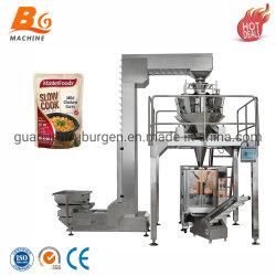 De automatische Verpakking van de Machine van de Verpakking van de Zak van de Prijs van de Kip van het Overzeese Voedsel