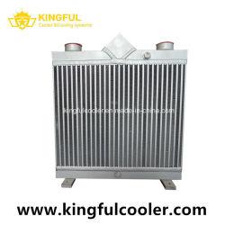 Enfriador de compresor de aire de tornillo de fábrica del intercambiador de calor