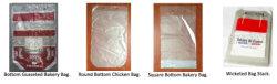 O plástico de alta velocidade automática do saco de frango com Wicket Recolher Bag fazendo a máquina