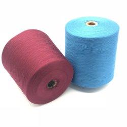 Filo di cotone colorato naturale, filati tinti di colore del filo di cotone