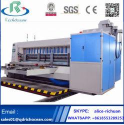 2 Caixa de Papelão Ondulado automática de cores de papelão de Embalagens Flexíveis Máquinas para impressão