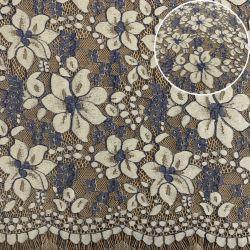 Для вязания ткани швейцарских кружевной ткани устраивающих кружева для платья (M2221)