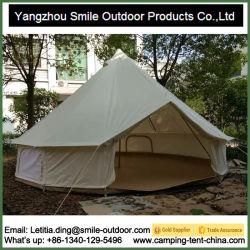 Toile de coton imperméable Bell Outdoor Événement personnalisé tente d'auvent