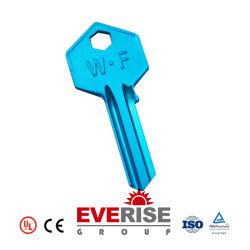 باب رئيسي فارغ في المنزل المريح ذو لون المينا الناعم عالي الجودة مفتاح القفل