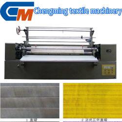 機械装置をプリーツをつけるユニバーサル自動布の織布の仕上げ