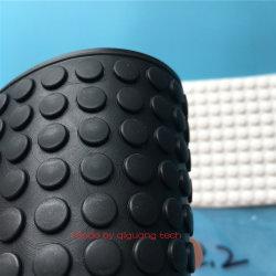 クッション停止8X2.2mmのための黒い粘着性がある3m付着力の裏付けのシリコーンゴムのフィートのパッド