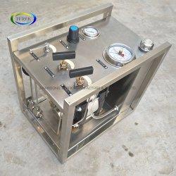 Het Vullen van de Cilinder van het Butagas van LPG van de Hoge druk van Terek Hydrostatische Lichtere Machine