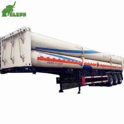 タンク交通機関が付いているCNGの管のスキッドのトレーラー