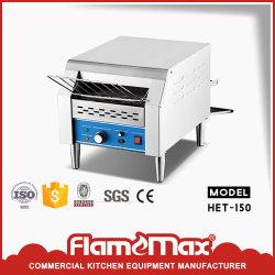 En acier inoxydable convoyeur commerciale grille-pain électrique pour Restaurant Het-150