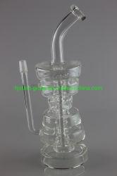Il nuovo multiplo di fumo di vetro dell'impianto di perforazione del tubo di acqua mette a strati il tubo di vetro di tubo