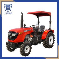小屋またはおおいのROP (60HP 65HP 70HP 75HP 80HP 100HP)が付いているLuzhong 75HPの4WDによって動かされる農場か庭または果樹園または農業のコンパクトなトラクター