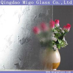 3mm 4mm 5mm el patrón de vidrio laminado decorativo Goldenfish