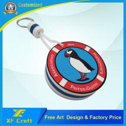 Hersteller passten sich hin- und herbewegendes SchlüsselChainfor Förderung-Geschenk Firmenzeichen EVA- an(XF-KC-E01)