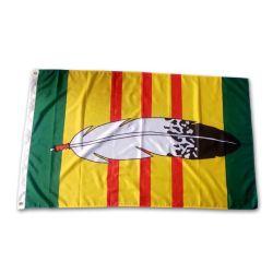 En el interior de poliéster personalizadas en el exterior de 150 X 90 cm de la bandera del país Nacional Publicidad