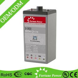 2VCC/3000ah tubular, batería de gel de ciclo profundo PV