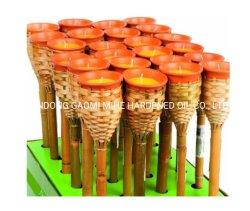 Produtos de fábrica abastecido jardim exterior Citronella Candeia, Bambu Torch candeia