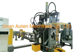 Alta velocidade ângulo CNC perfuração, marcação e máquina de Cisalhamento