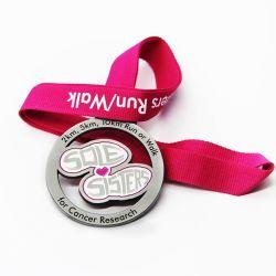 Cadeaux promotionnels tourbillonnant Certification Médaille de la goupille de sécurité unique personnaliser