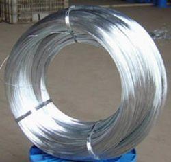 Fil de fer galvanisé/fil/d'acier galvanisé à chaud sur le fil galvanisé de croisement