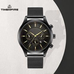 De manier Mens let op het Waterdichte Horloge van de Sport van het Kwarts van de Mens van het Roestvrij staal (72932)
