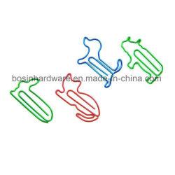 Bonitinha clipes de papel colorido Animal