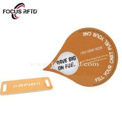 Commerce de gros de la carte à puce RFID sans contact touche le matériel en PVC