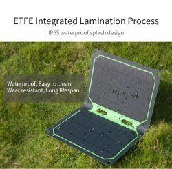 بطاقة بطارية كمبيوتر محمول يعمل بالطاقة بقدرة 12 واط تعمل بالطاقة عبر منفذ USB يعمل بالطاقة الشمسية شاحن اللوحة أفضل سعر
