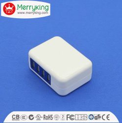 휴대폰 4 포트용 25W USB 충전기 멀티 포트 어댑터