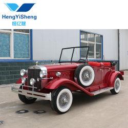 Красный высокого класса электрический классических автомобилей с 5 сиденьями для заядлых Место проведения