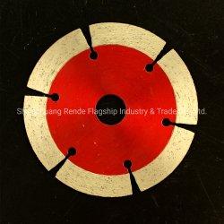 Segmento de 110 mm de diámetro de corte en seco de sierra de diamante Tipo Blade para todas las piedras