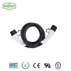 32A EV Cargador de coche con IEC 62196 Pasa/cargador de batería/cargador universal