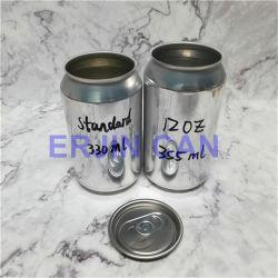 Embalagens de metal de alumínio pode 355ml 12oz Mini-contentor