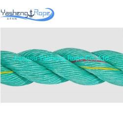 Красочные 3-ветви PP веревки морской швартовые полипропилена/PE/нейлон/ полиэстер веревки для рыбной ловли Net