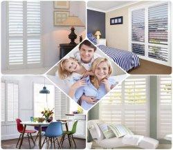 PVC-ramen met verticale zonwering